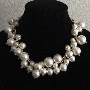 Thalia Sodi Gold-Tone and Faux Pearl Necklace V437